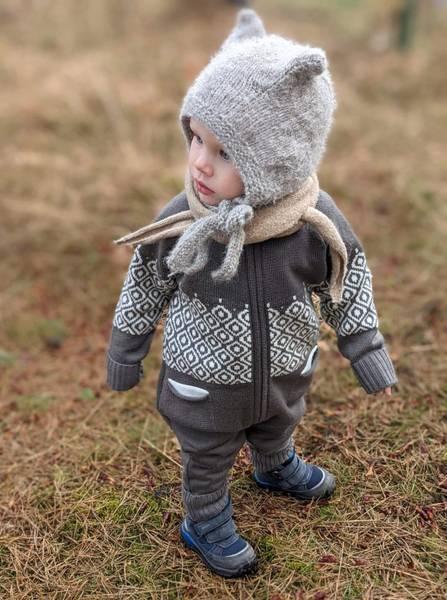 Bilde av Heldress Lohi i merinoull, brun