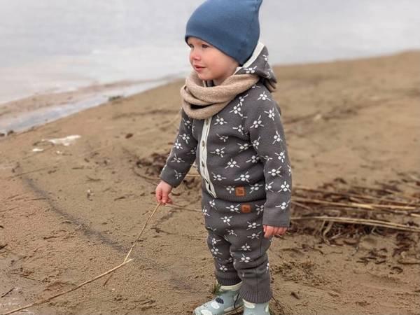 Bilde av Brun ullsett med jakke Icelandic og bukse Mule